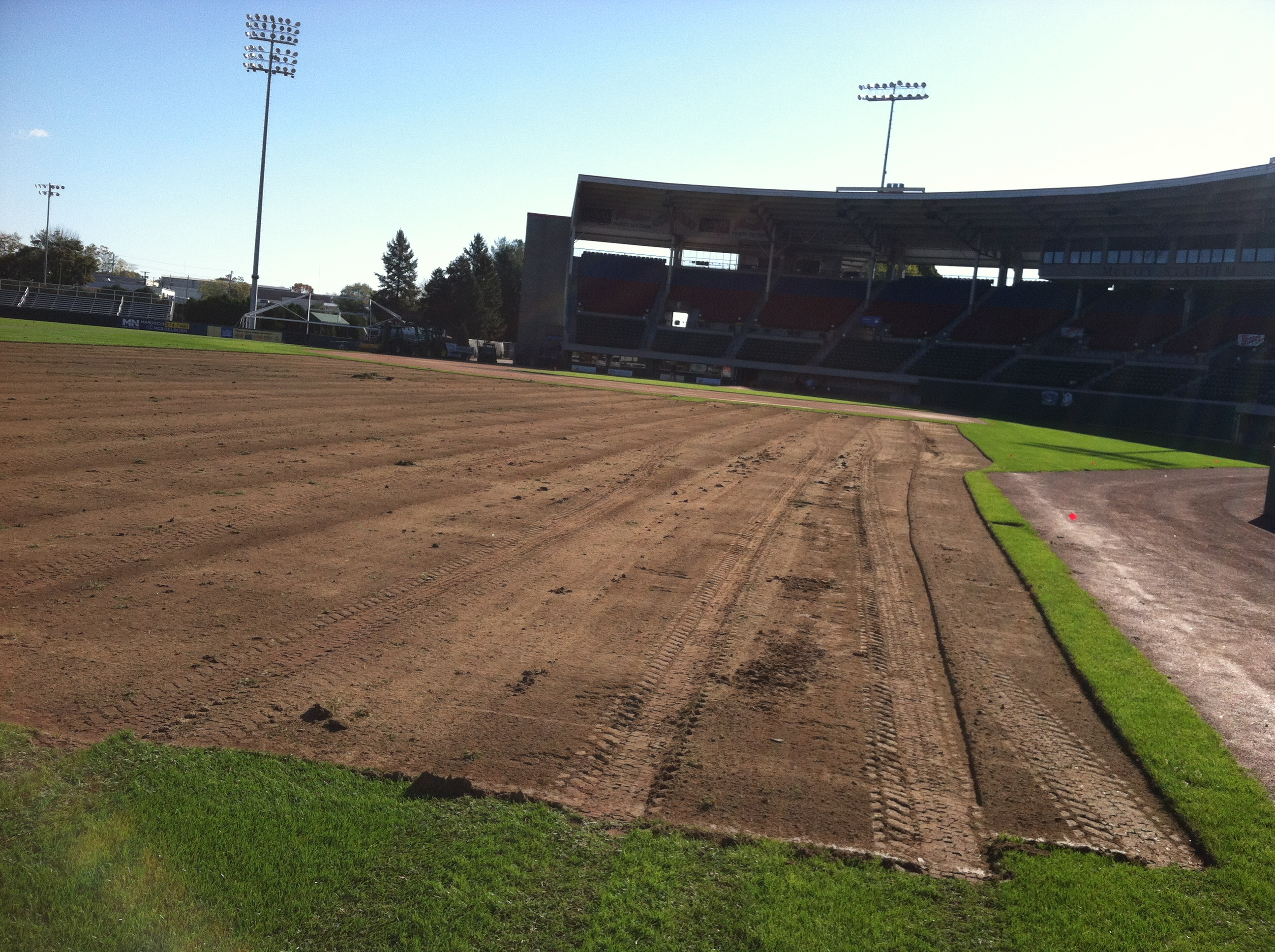 McCoy Field Construction, 10-22-12