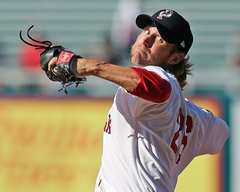 Fields did not allow a single run over the 10 appearances he made with the PawSox in 2012. (Kelly O'Connor)
