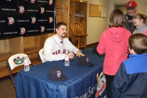 Lavarnway Signing
