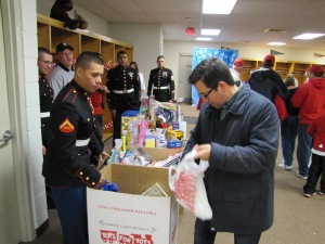 Donating to Toys for Tots