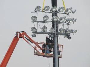 New McCoy Stadium Lights, 1-9-13