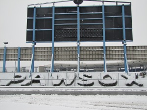 Snowfall at McCoy, 1-16-13