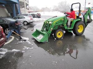 Snowfall at McCoy, 1-16-13