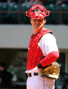 Catcher Ryan Lavarnway returned to Pawtucket yesterday
