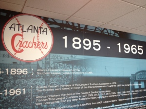 The Atlanta Crackers started pro baseball in Atlanta