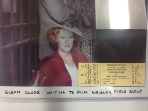 "Glenn Close, who I'm told was very nice during filming, played Iris...""The Lady in White"""