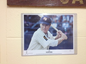The iconic Roy Hobbs