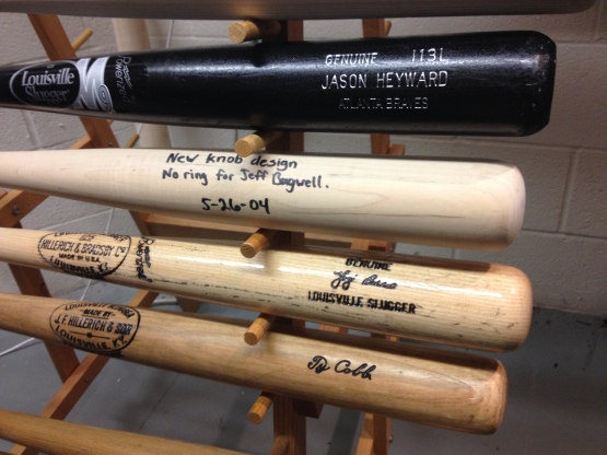 The evolution of bats from Ty Cobb to Jason Heyward
