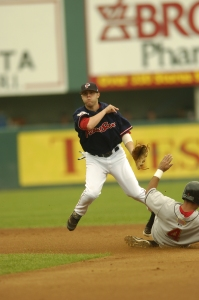 Dustin Pedroia logged 162 games between the 2005 and 2006 seasons for the PawSox.