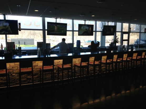 Flat screens, granite countertops and a VIP feel welcome you to the Club level