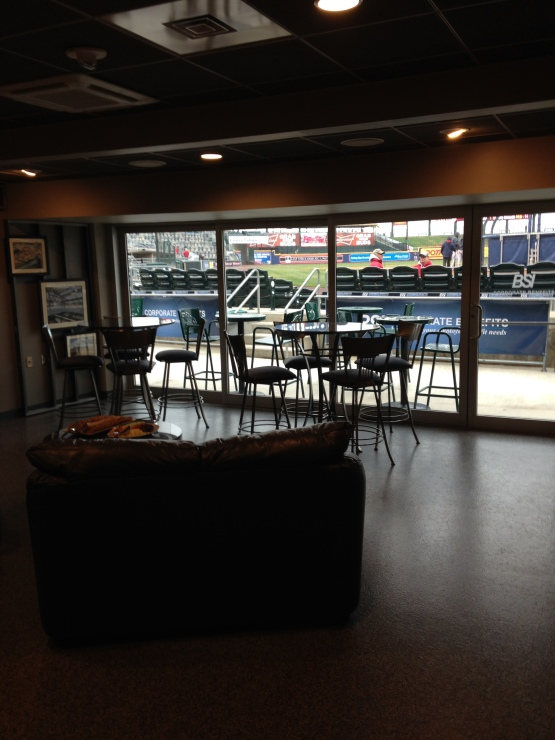 The Dugout Suites are one of the many fabulous amenities at Coca Cola Park