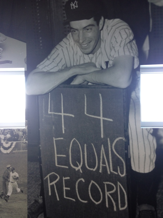 On the way to 56, Dimaggio tied Wee Willie Keeler's 44-game streak