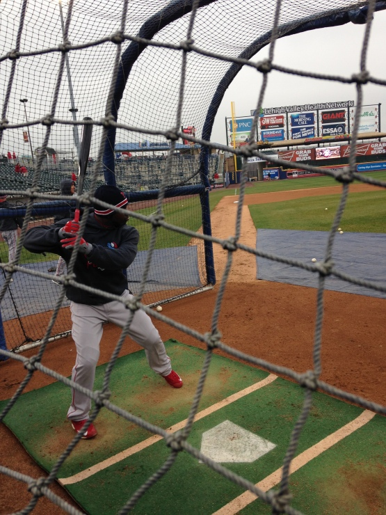 Rusney Castillo put on a show in BP - and then delivered when it counted