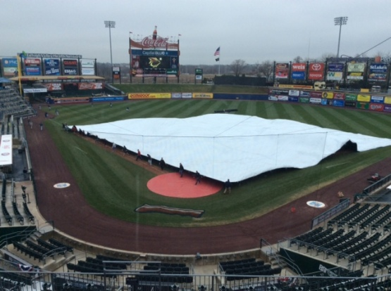 Fortunately, the rain moved quickly through Allentown