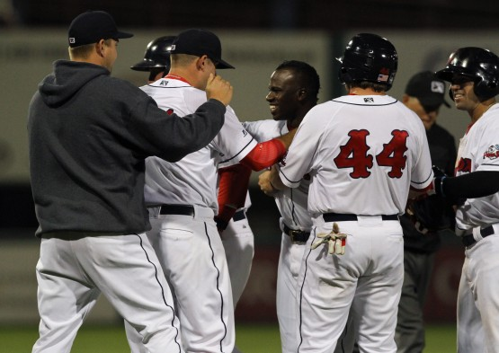 Rusney WalkOff