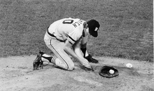 Mark Fidrych would groom the mound and speak to the baseball before every start