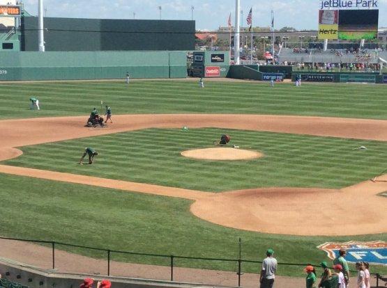 green bases for St. Patricks Day