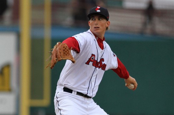 Henry Owens pitching