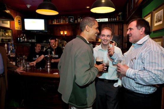 Obama St. Patricks Day